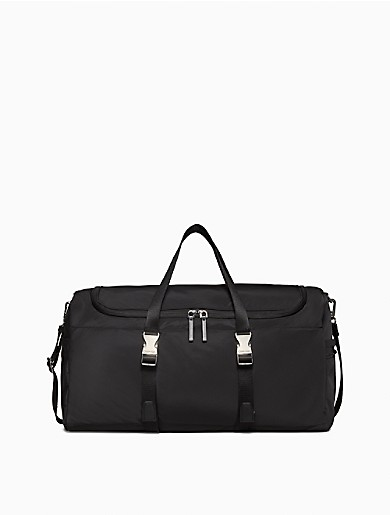 Image of Rectangle Quilted Duffle Bag