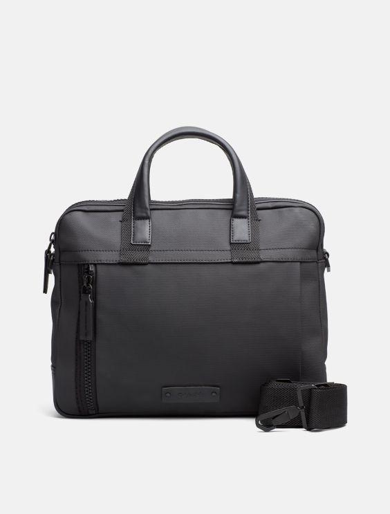 Calvin Klein Coated Canvas Slim Laptop Bag