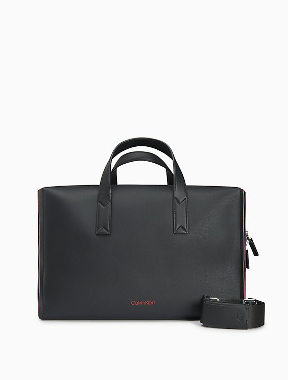 Double Edge Logo Duffle Bag