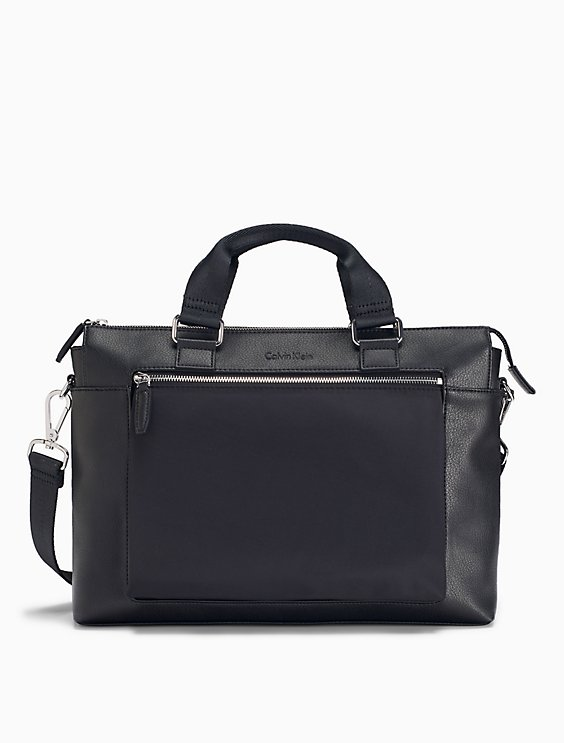 32ad7209 elevated tech city commuter bag | Calvin Klein