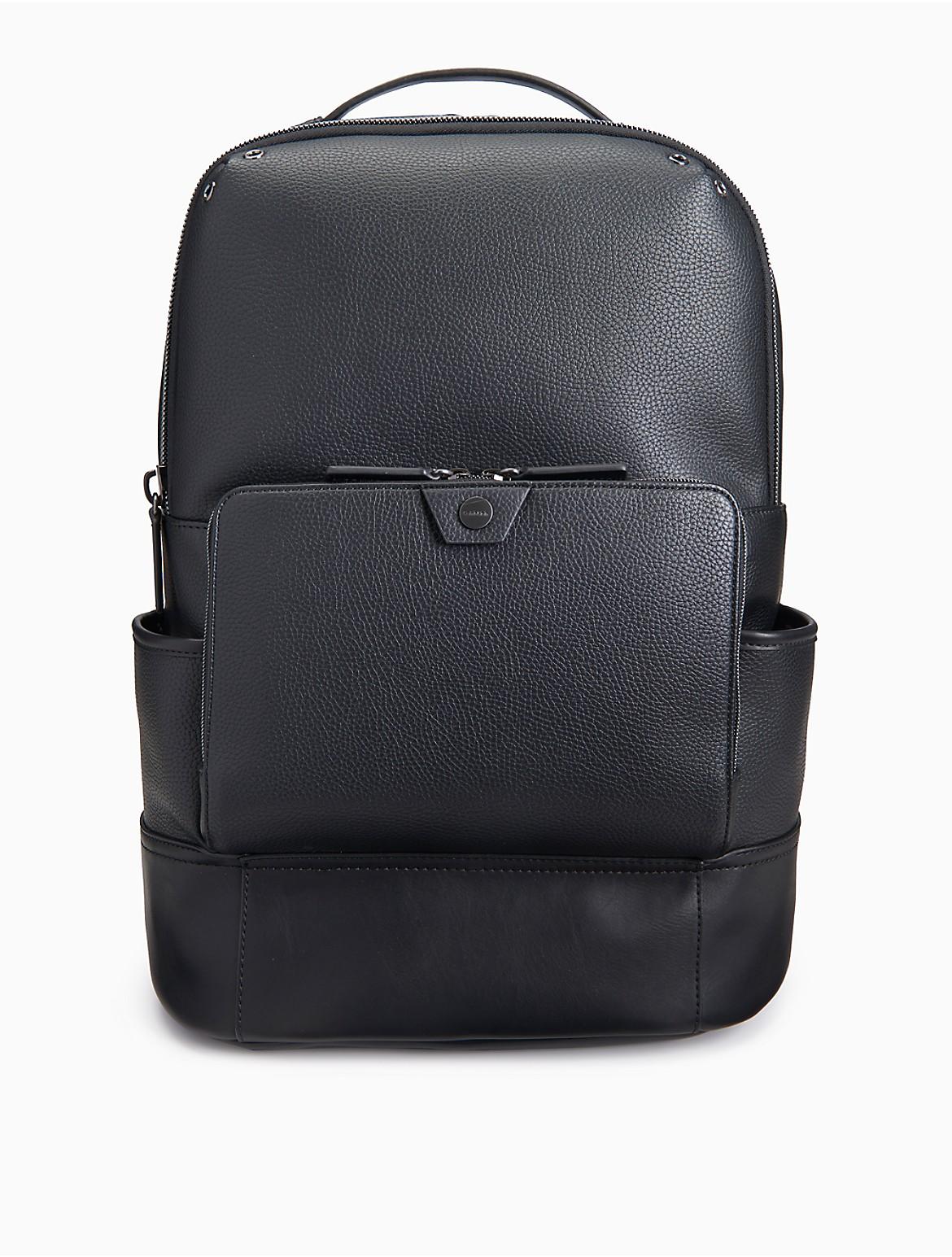 fc96a8fe3d5 Calvin Klein Blue Nylon Backpack- Fenix Toulouse Handball