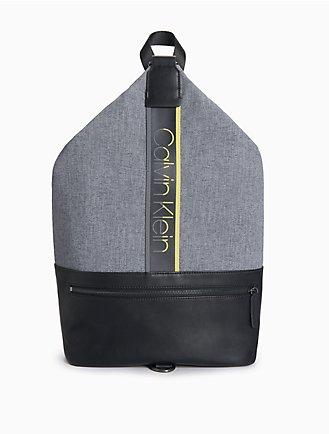 18f5a18f5c6e Logo Stripe Draped Backpack