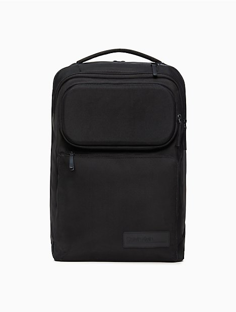 Tech Nylon Large Convertible Backpack by Calvin Klein