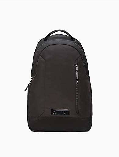 Image of Casual Nylon Double Zip Backpack
