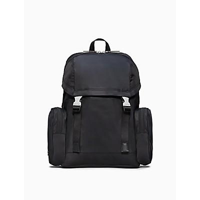 Nylon Large Flap Backpack