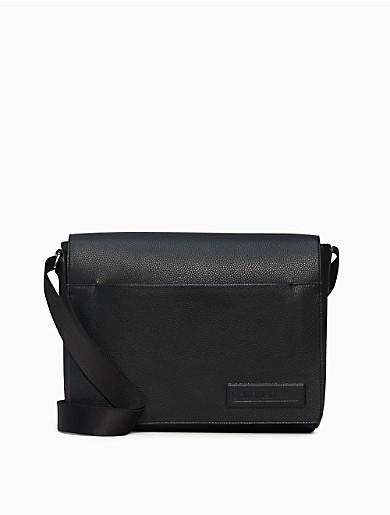 Image of Business Casual Flap Messenger Bag