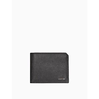 Matte Saffiano Leather Bifold Wallet
