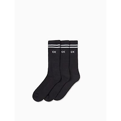 3-Pack Athletic Stripe Socks