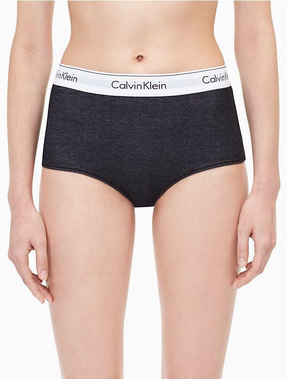 72474878a0f4b modern cotton denim high waist hipster | Calvin Klein