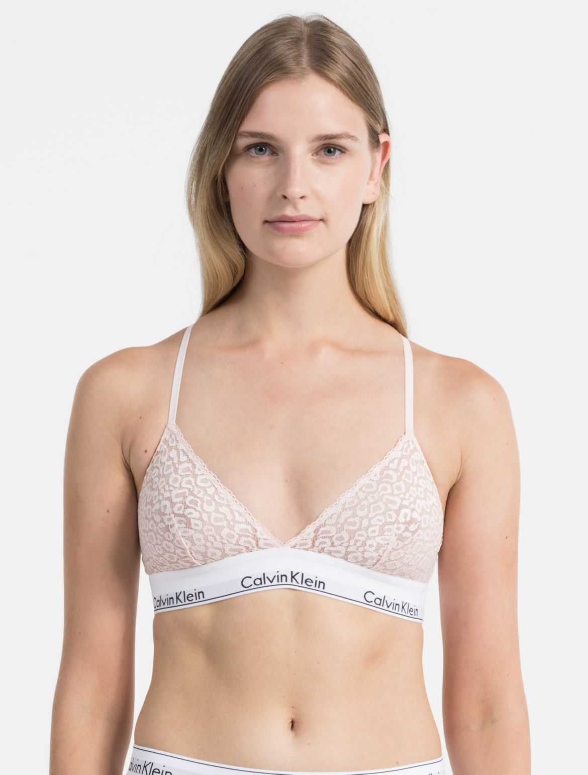 Womens Sweet Coton Triangle Bra Huit