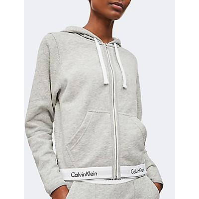 Modern Cotton Stretch Zip Hoodie