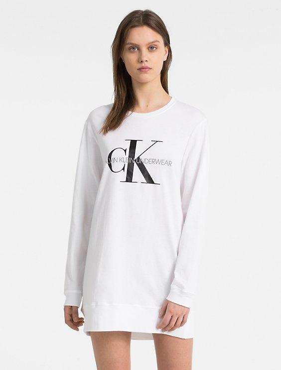 Clearance monogram logo long sleeve nightshirt 80517767a