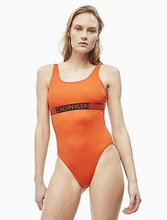 d093857e693 Core Icon Logo One-Piece Swimsuit