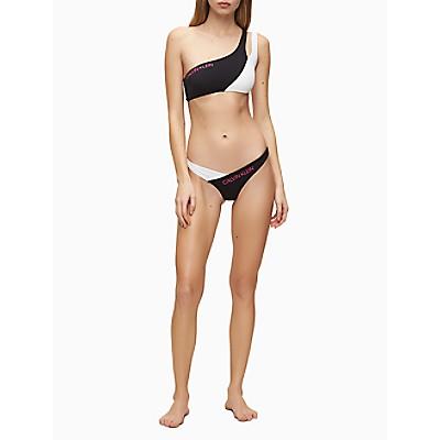 CK Blocking Bandeau Bikini Top