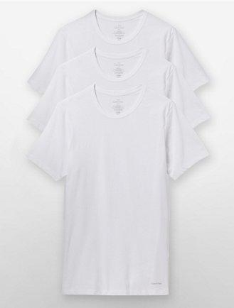 39034cb413f7 Slim Fit 3-Pack Crewneck T-Shirt
