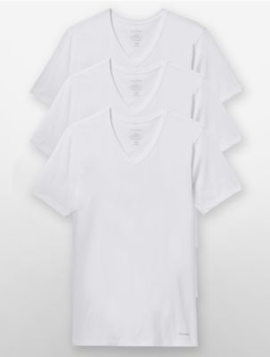 Calvin Klein Mens Plain Stretch Long Sleeve Shirt Mens Socks Shop Mens Socks COLOUR-pink