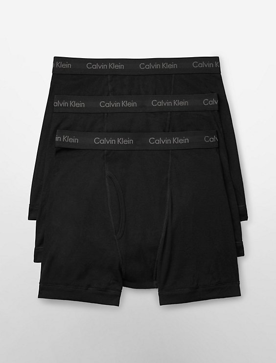 470b46300a34 cotton classic fit 3 pack boxer brief | Calvin Klein