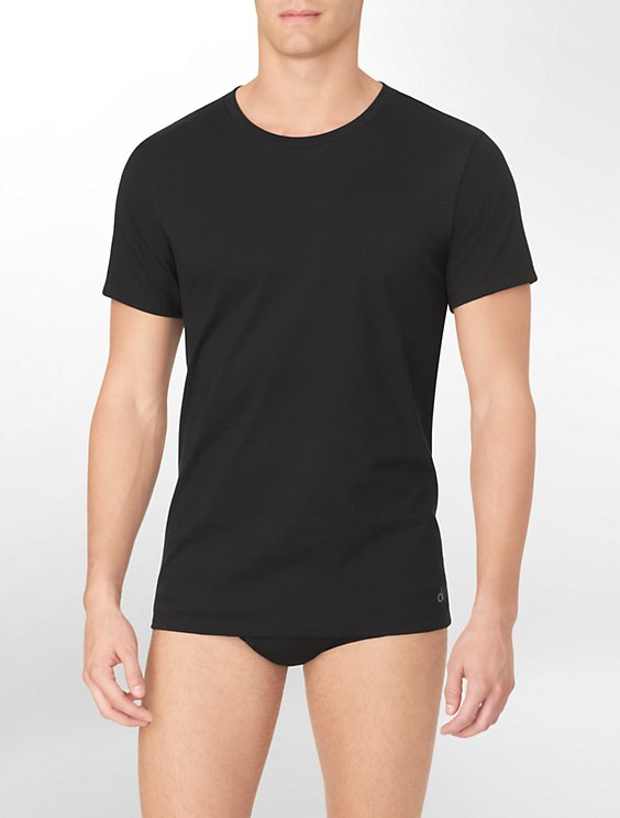 58003c7a6821 Cotton Classic Fit 3-Pack Crewneck T-Shirt | Calvin Klein