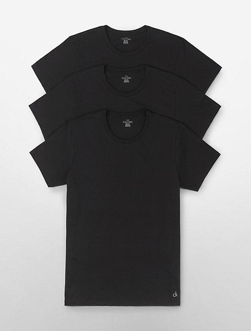 89d78e3b Cotton Classic Fit 3-Pack Crewneck T-Shirt | Calvin Klein
