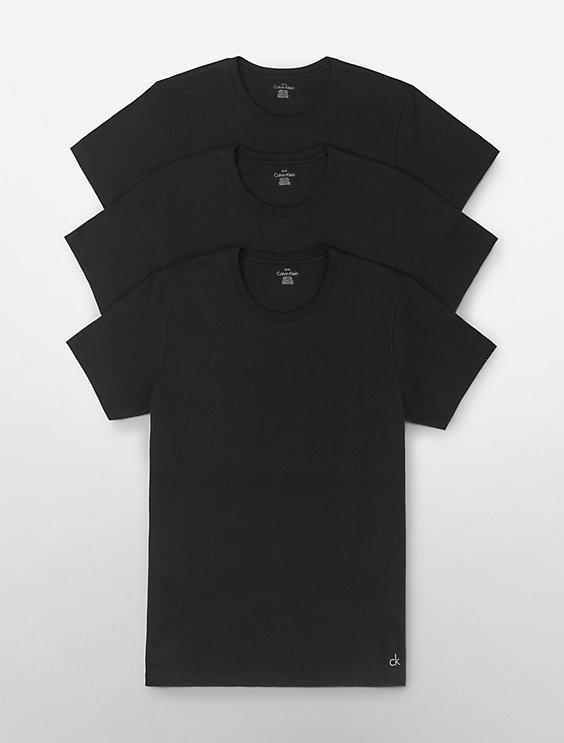 c5fd1250f61c2 Cotton Classic Fit 3-Pack Crewneck T-Shirt | Calvin Klein