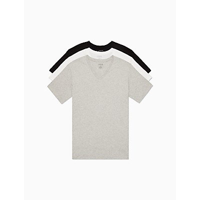 Cotton Classic Fit 3-Pack V-Neck T-Shirt