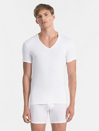 dfdd653c9c587 Modern Cotton Stretch 2 Pack V-Neck T-Shirt