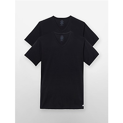 097bc995727e cotton stretch 2-pack v-neck t-shirt