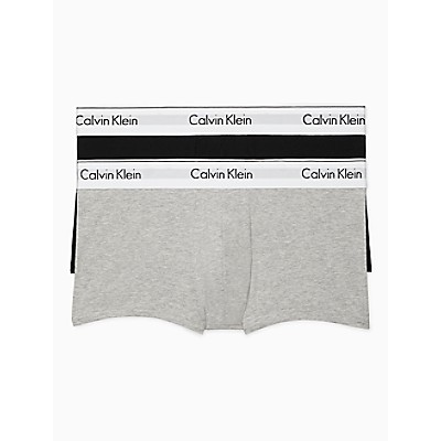 Modern Cotton Stretch 2-Pack Low Rise Trunks