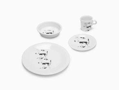 calvin klein andy warhol dennis hopper fiesta® dinnerware set in white  sc 1 st  Calvin Klein & Home | Dining | Dinnerware | Calvin Klein