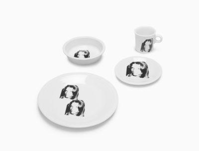calvin klein andy warhol sandra brant fiesta® dinnerware set in white  sc 1 st  Calvin Klein & Home | Dining | Dinnerware | Calvin Klein