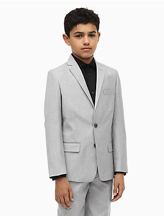 Kids Boys Sizes 8 20 Suiting Blazers Calvin Klein