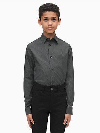 af774d13d0bb boys geo print dress shirt