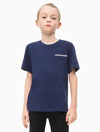017518cfc1878f Boys Organic Cotton Logo T-Shirt