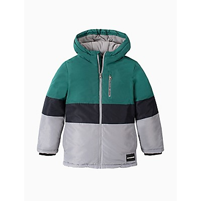 Boys Colorblock Zip Utility Jacket