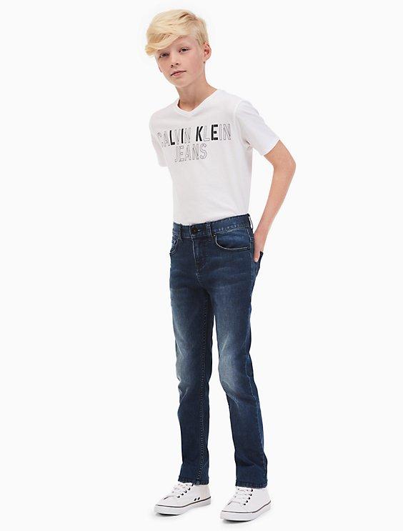 69349a56ae758 boys super skinny stretch jeans   Calvin Klein