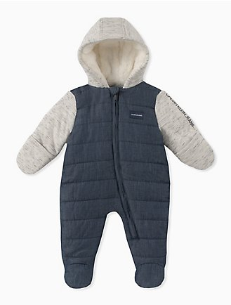c04e7ed5d198 baby boy colorblock quilted onesie