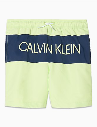 013b18e07c Boys Placed Logo Drawstring Swim Shorts