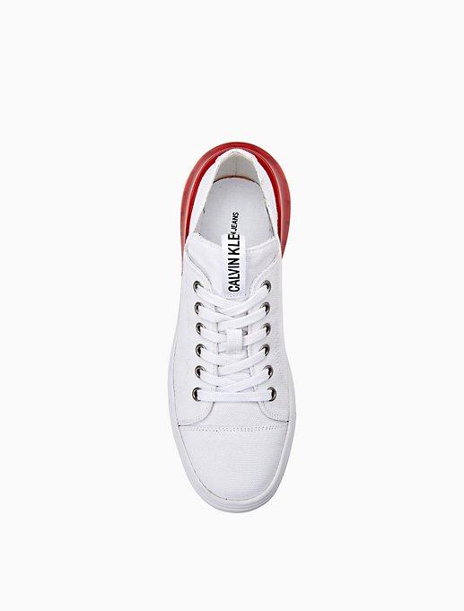 Myrtie Canvas Sneaker by Calvin Klein