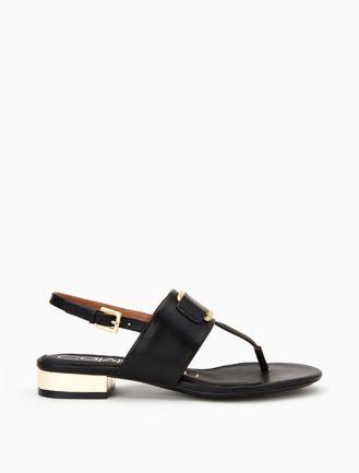Calvin KleinDALANA - Mules - black/pewter/plat white