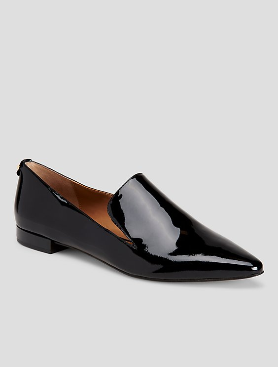 Calvin Klein Elin Patent Leather Loafer hTLXu5jIV