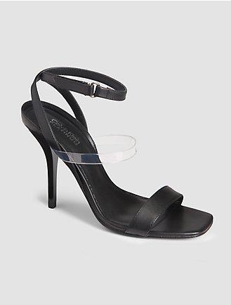 Womens Shoes Calvin Klein Valery Black Microsuede