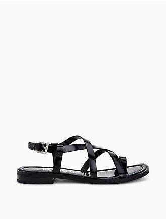 634a034115c1 Tica Box Leather Sandal