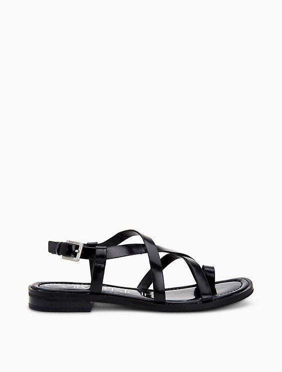 f2dcec6a29a Tica Box Leather Sandal | Calvin Klein