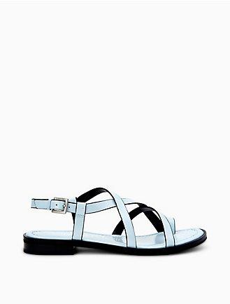 dca036f1de63 Tica Box Leather Sandal