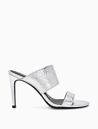 c8979ad12845 rema metallic leather heel