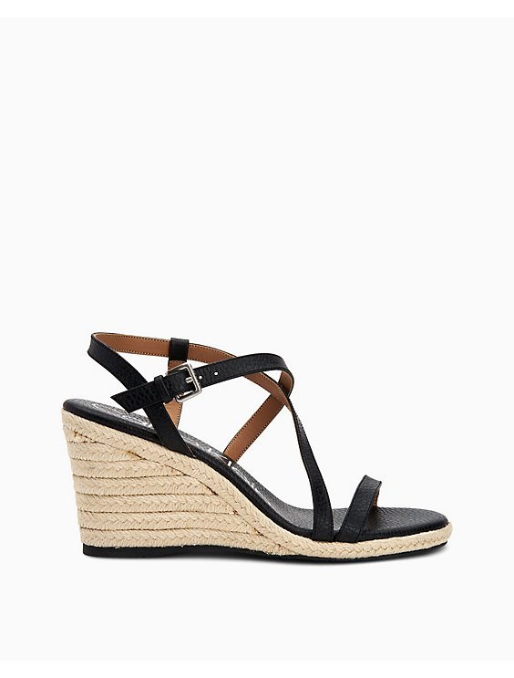 fdb144857ae Bellemine Pebble Wedge Sandals | Calvin Klein