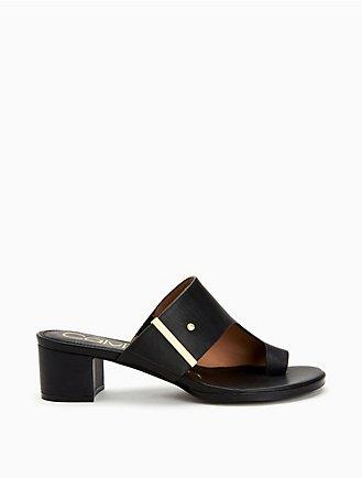 998aa383f8980 Daria Leather Sandal