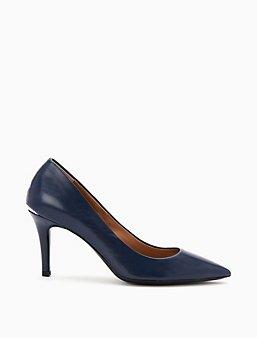 Women'S Shoes Calvin Klein Calvin Klein Black Leather Booties Shoes