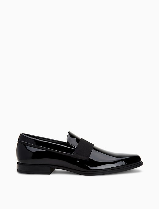 Demetrius Patent Leather Loafer by Calvin Klein