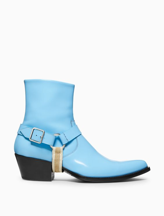 Tex Harness In Calf Leather by Calvin Klein